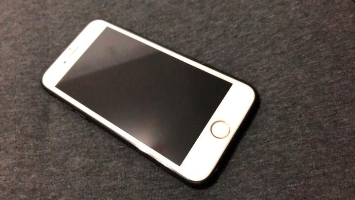 亿色(ESR) 苹果8/7钢化膜 iphone8/7钢化手机膜 高清抗蓝光全屏全覆盖防爆防指纹防碎边无白边玻璃贴膜-白色 晒单图