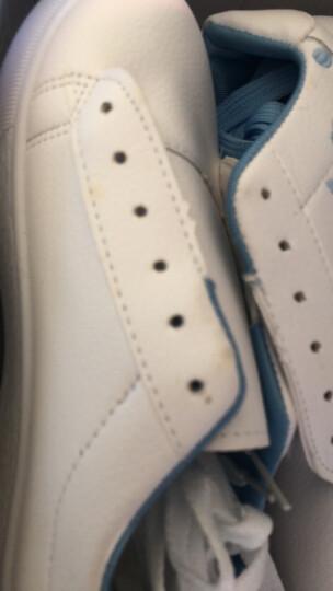 夏季新款女鞋韩版潮流时尚休闲鞋女生户外运动鞋板鞋子女士内增高帆布厚底跑步鞋女 富亿达&6818粉色 36 晒单图