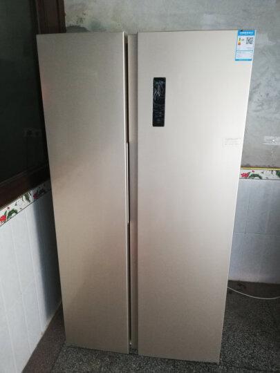 美菱(MELING)551升0.1度精控变频双开门 风冷无霜 电脑控温 纤薄对开门冰箱 玫瑰金 晒单图