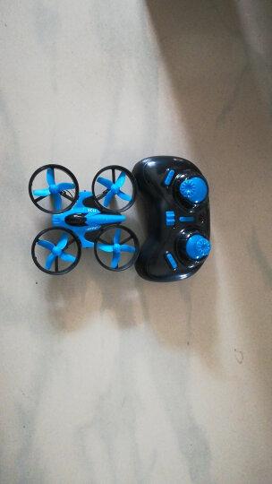 JJR/C H36 迷你 四轴飞行器 小型无人机 微型四旋翼 遥控直升飞机 玩具耐摔 黑色套装  6个锂电池 晒单图