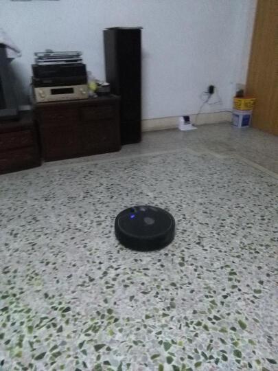 卡琳娜XR510 规划智能扫地机器人 吸尘器家用全自动充电拖地擦地一体机(带杀菌效果) 黑色 晒单图