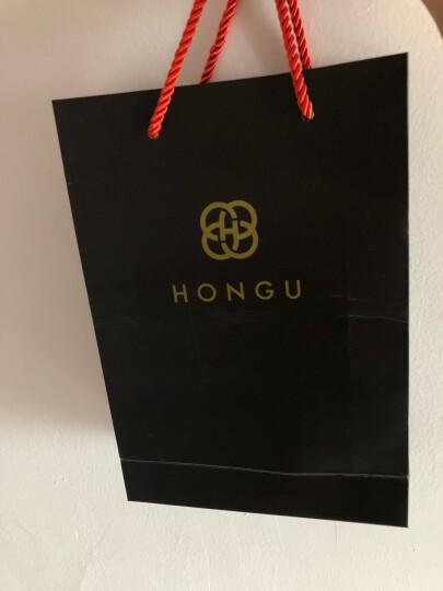红谷HONGU男士皮带时尚商务皮带男自动扣牛皮男士腰带 H21104303深咖啡 晒单图