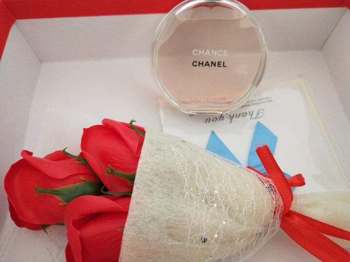 【七夕礼物】香奈儿(Chanel) 【礼盒包装】香水女士淡香水花果香调 绿色邂逅淡香水35ml 晒单图
