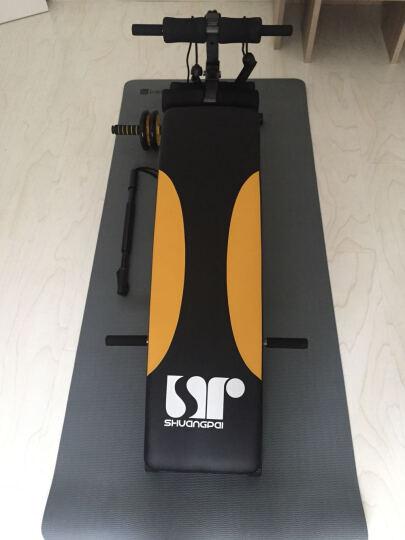 双牌 仰卧板仰卧起坐健身器材家用运动减肥腹肌板 升级款小蜜蜂仰卧板 晒单图