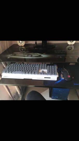 赛德斯 发光有线键盘鼠标游戏套装可选键鼠耳机套 io1.1牧马人机械手感彩虹背光LOL套件 轻语七色背光键盘+赛德斯七彩背光版鼠 晒单图