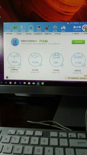 华硕(ASUS)傲世V241IC 23.8英寸一体机电脑(i3-7100U 4G内存 256G固态 2G独显 全高清 上门售后)黑曜金 晒单图