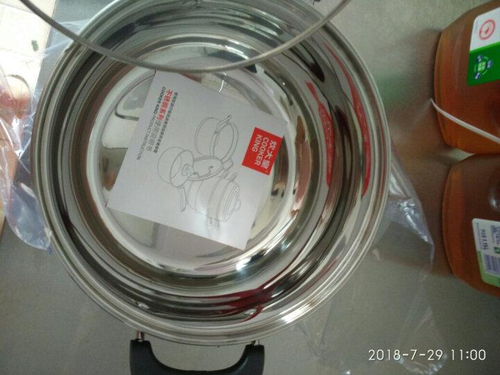炊大皇汤锅304不锈钢加厚22cm无涂层炖汤煲汤锅电磁炉通用WG14733 晒单图