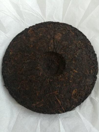 中粮集团中茶牌 茶叶 普洱茶 祥和普洱熟茶饼茶 357g中华老字号 晒单图