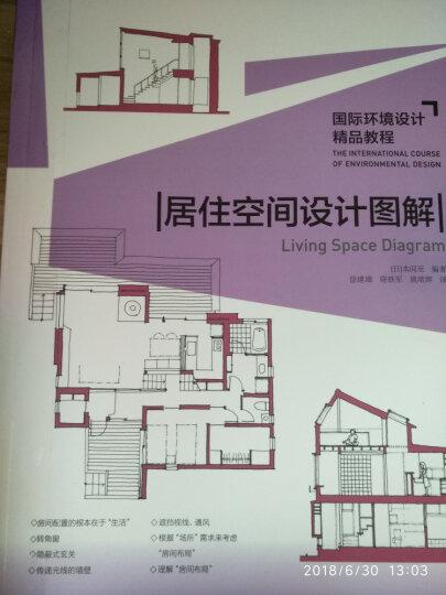 国际环境设计精品教程:居住空间设计图解 晒单图