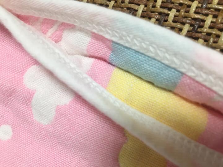 象宝宝(elepbaby)婴儿睡袋 夏季薄款新生儿宝宝纱布背心睡袋 80X45CM粉色 晒单图