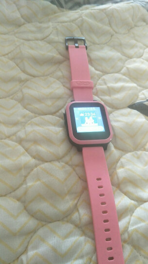 搜狗糖猫(teemo)儿童智能电话手表 棉花糖-T2通话版 GPS定位 防丢防水 天空蓝 晒单图