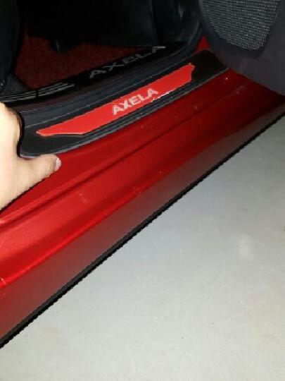 纳斯顿 2017款昂克赛拉门槛条专用于马自达3不锈钢昂克赛拉改装迎宾踏板 炫动★蓝标款( 内置+外置)送钥匙包 晒单图