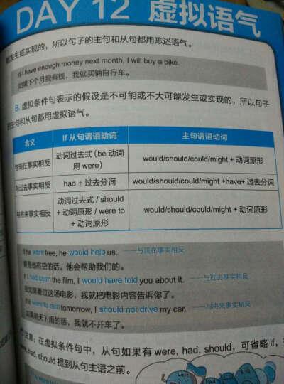 【漫画图解】21天搞定全部英语语法 英语语法书 英语口语 入门旅游英语 新思维手册教材 晒单图