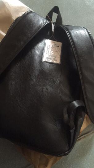 意大利L'ALPINA袋鼠 男士双肩包时尚背包男韩版休闲旅行包书包男潮流 经典款 晒单图