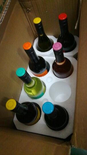 黄尾袋鼠(yellowtail) 澳洲红酒 澳大利亚原瓶进口红葡萄酒 整箱特惠 7种口味750ml*7支 整箱组合装 晒单图