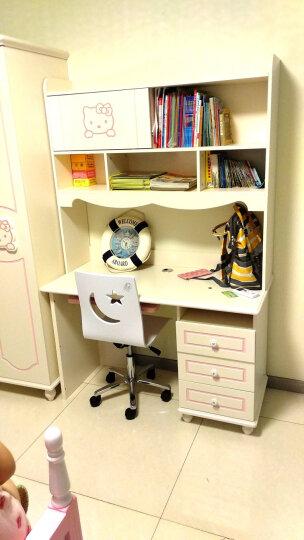 七彩元素 书桌直角书桌学习桌 书桌书柜组合 工作台8320S 8320转角书桌不含椅子 晒单图