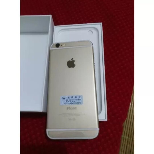 Apple 苹果 iPhone 6 手机 金色 全网通(32G) 晒单图
