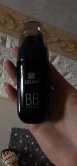 ZEESEA 滋色滚轮气垫bb霜25g 裸妆保湿遮瑕膏 遮斑遮瑕痘印雀斑 滚轮BB霜男女士 自然色 晒单图