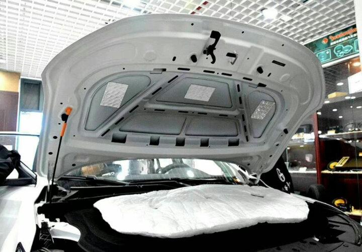 3M新雪丽汽车隔音棉 引擎盖 发动机 四门 风噪 全车隔音止震板丁基胶减震板吸音隔音环保音响改装材料 地板 隔音旗舰版 晒单图
