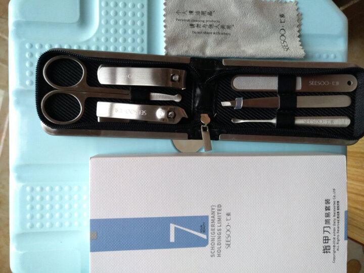 德国七素指甲刀套装 指甲剪指甲钳修甲美甲工具套装 修甲6件套(安全剪) 晒单图