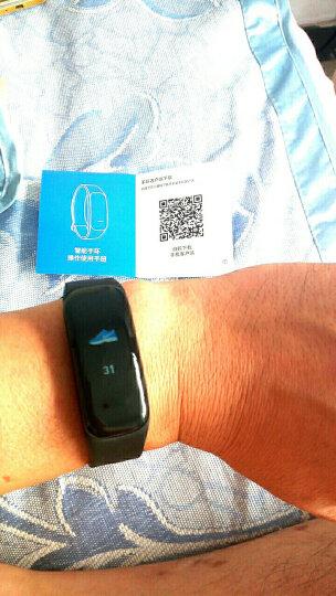 智能手环 心率血压男女运动计步彩屏手环手表来电提醒同步微信睡眠监测华为OPPO通用 绿色 晒单图