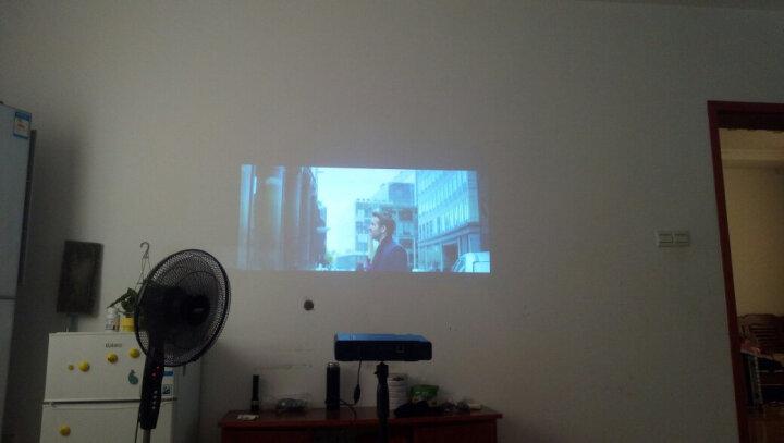 投美科技(TOUMEI)掌上微型投影仪 移动便携迷你 家用wifi手机投影机家庭影院偏轴 V5 黑色新升级3D高清智能影院 晒单图