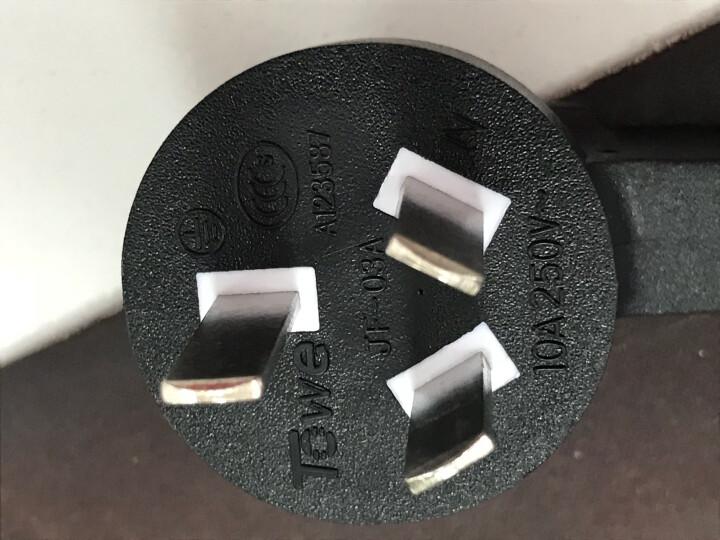 同为(TOWE) 电脑/服务器/打印机国标(10A)电源线 3*1.5平方1.8米纯铜芯电源线 TW-F-G10/C13-18 晒单图