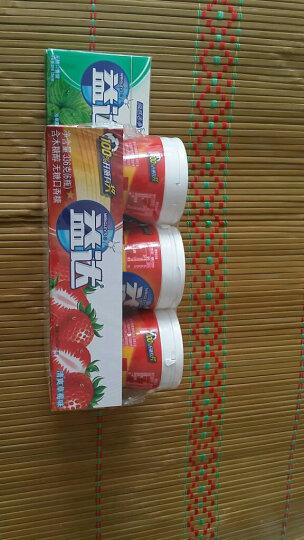 益达(Extra)木糖醇无糖口香糖沁香蓝莓40粒56g*6瓶装(新旧包装随机发) 晒单图
