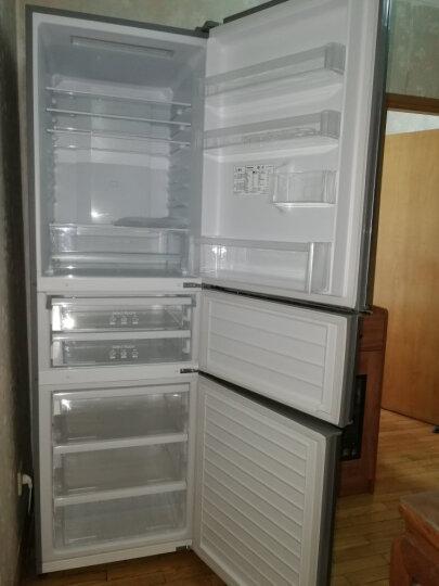 松下(Panasonic)318升变频风冷无霜三门冰箱 自由变温室 典雅银 NR-C320WP-S 晒单图