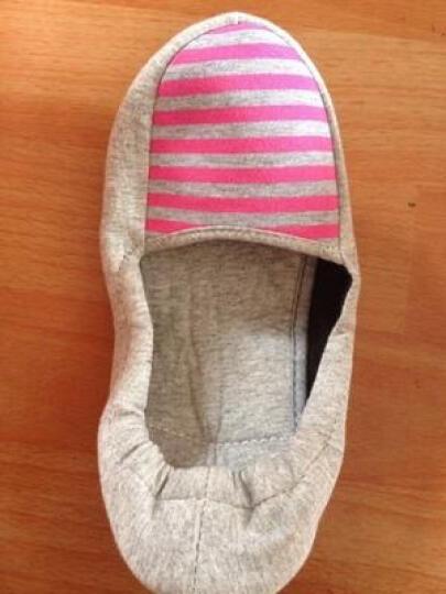 多米贝贝 春季月子鞋 舒适平底 孕妇鞋 柔软包跟防滑软底 棕色蝴蝶结款冬季款 37码 晒单图