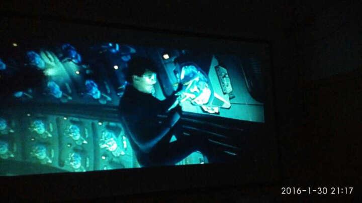 图美X6办公投影仪 家用高清投影机1080p无线智能手机wifi全高清迷你便携3D家庭电视商务投影器 标配(无WIFI) 晒单图