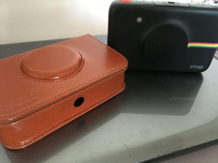 宝丽来 Polaroid snap 拍立得数码相机一次成像 一次成像照片打印 相机黑 晒单图
