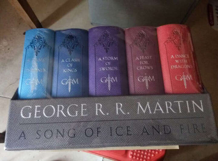 冰与火之歌卷5:魔龙的狂舞(套装13~15册) 晒单图