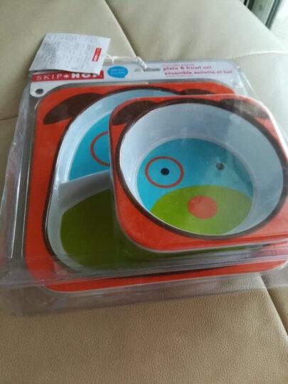 SKIP HOP可爱动物园仿瓷防摔儿童宝宝碗碟餐具组合-小狗 6个月以上 美国新生儿 晒单图