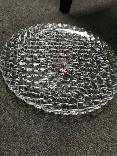 青苹果玻璃果盘EQ3002-5 晒单图