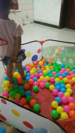 北国e家婴儿加厚海洋球球池 儿童男孩女孩游戏屋宝宝帐篷婴儿波波球池 幼儿园户外玩具玩具球圣诞节礼物 海洋球 6CM海洋球100个 晒单图