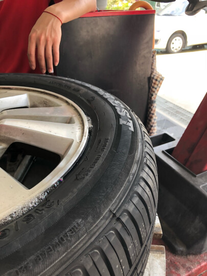【帮5养车】更换轮胎服务含动平衡(单条)(必须与对应实物一起购买,单独购买自动退款) 工时费 全车型 晒单图
