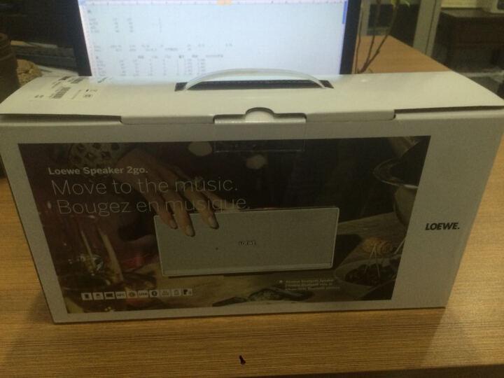 LOEWE Speaker 2go铝质蓝牙扬声器 商务便携式无线2.1蓝牙音响 NFC功能 红色 晒单图