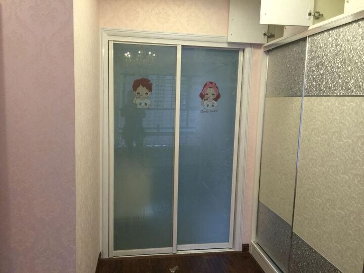 儿童房卧室床头背景墙壁贴纸动漫卡通客厅电视沙发墙贴画钓鱼龙猫十元包邮 DWM1205B黑色 晒单图