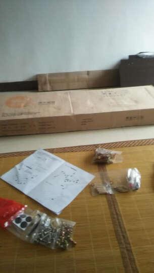 择木宜居 储物床头柜 边几 收纳柜 黑胡桃色 两个床头柜 晒单图