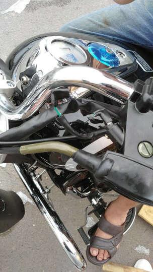 阔途 哈雷风暴太子摩托车跑车150 200国四电喷哈雷太子复古摩托车带边箱正规可上牌 黑色 200CC力帆平衡轴顶杆机  6180元 晒单图