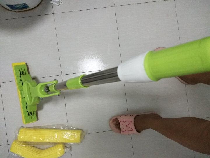 利临 魔术扫把扫帚扫地笤帚地刮套装家用刮水器刮地板卫生间浴室刮水扫地神器家用魔法扫把送原装头 晒单图
