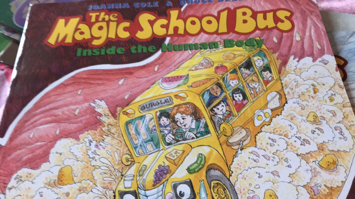 The Magic School Bus inside the Human Body  神奇校车系列:人体漫游 英文原版 晒单图