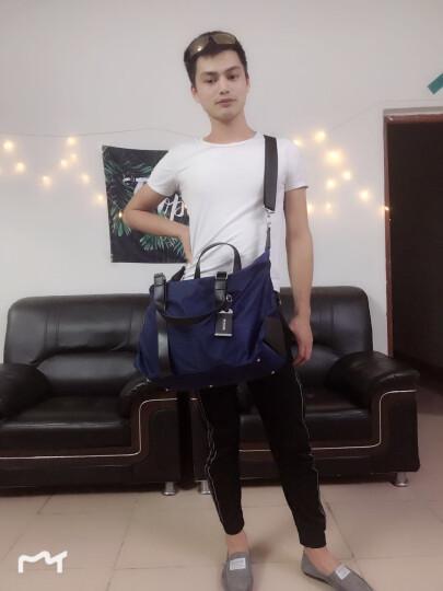 瑞士RUIGOR瑞戈旅行包男女行李包手提包旅游包旅行袋斜挎包大容量出差包运动包健身包 黑色|可手提斜挎 晒单图