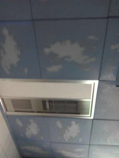 欧米克 集成吊顶 铝扣板 风暖浴霸  超导PTC风暖浴霸 配浴霸开关 银色 晒单图