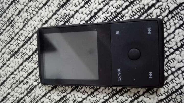 HOTT 1.8寸8G高清蓝牙MP3/MP4HIFI无损音乐播放器收录音机TF插卡 红色 晒单图