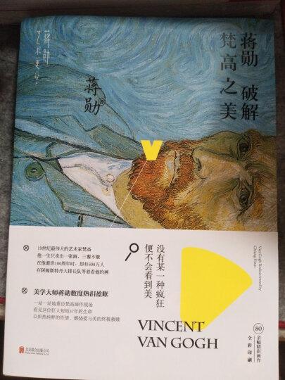 蒋勋破解:达芬奇之美+梵高之美+米开朗基罗+莫奈之美(套装共4册) 晒单图