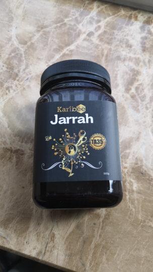 可瑞比Karibee 红柳桉树嘉拉蜂蜜TA35+ 500g塑料瓶 澳洲进口蜂蜜 晒单图