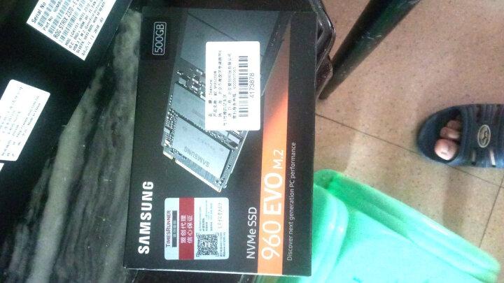 三星(SAMSUNG) 960 EVO 500G NVMe M.2 固态硬盘 晒单图