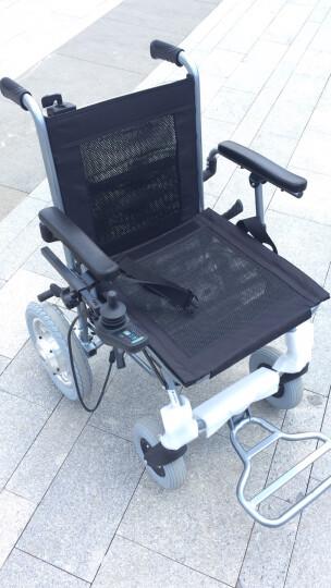 互邦轮椅 电动轮椅前后双控锂电池铝合金无刷电机轻便便携可折叠智能老年人残疾人代步车 HBLD3-C双控【仅14公斤+铝合金+折叠拖行】 晒单图